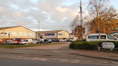 Boss Hall Business Park is set to be redeveloped. Picture: Rachel Edge