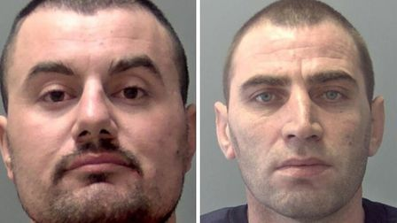 Daniel Muhaj and Eglant Selenica were both jailed for 20 months. Picture: SUFFOLK POLICE