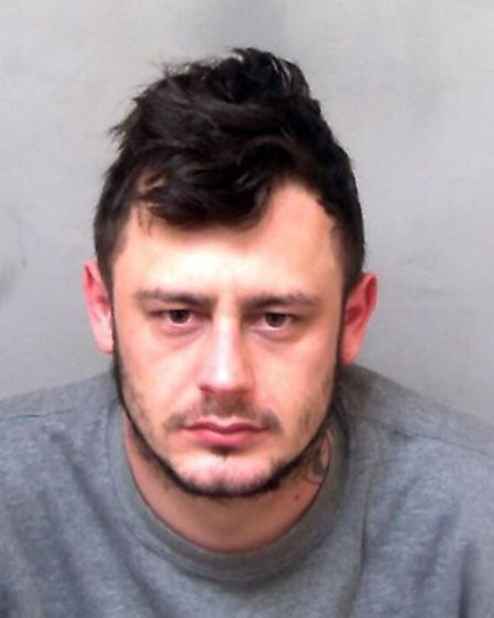 24-year-old Daryl Warner of no fixed address has been jailed for 44 months after pleading guilty to
