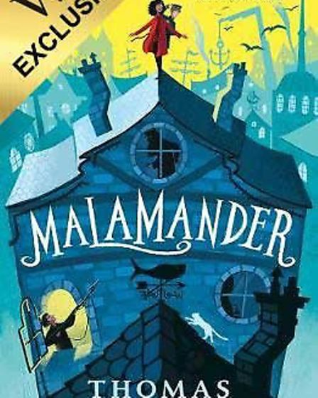 Malamander writer Thomas Taylor will run a workshop for children at Waterstones in Ipswich this week