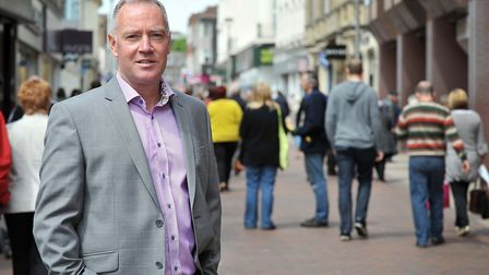 Paul Clement, chief executive of Ipswich Central, wants to see a new approach to the high street Pic