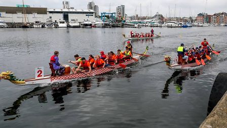 Fresh Start - new beginnings is hosting its second Ipswich Dragon Boat Race at the waterfront on Sat