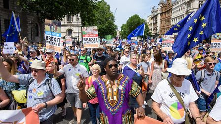 Not just a white, London-based middle class elite on The People's Vote march. Photo: Matt Crossick/