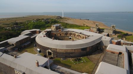 Landguard Fort at Felixstowe Picture: SUPPLIED BY EAST SUFFOLK COUNCIL
