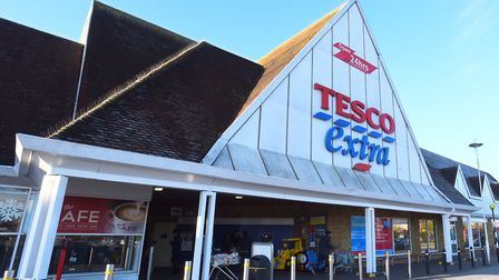 Tesco Extra in Copdock. Reports of young drivers gathering and racing through Pinewood, disturbing r