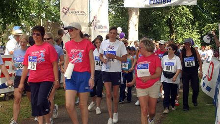 Race For Life at Chantry Park in aid of Cancer Research. Picture: LUCY TAYLOR