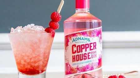 Adnams' new Copper House Pink Gin is a twist on their . Picture: Adnams