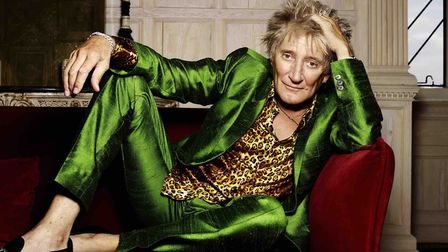 Sir Rod Stewart will perform at Portman Road on Friday. Picture: RANKIN/ SUPPLIED BY CUFFE & TAYLOR