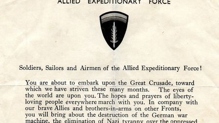 A rousing call to arms from Dwight Eisenhower, the general who would in 1953 become the 34th preside
