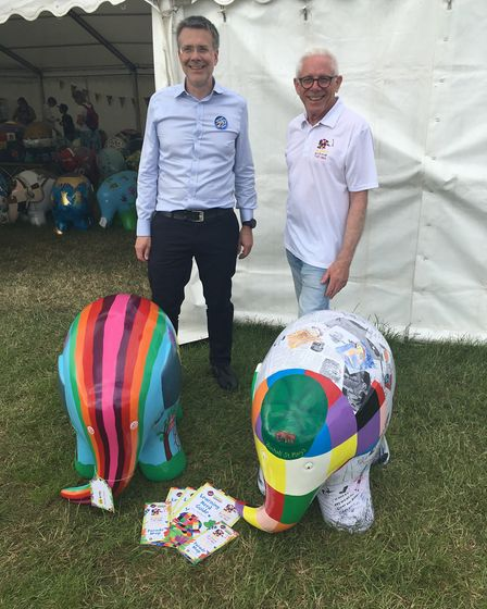 Councillor Paul West hopes Elmer's Big Parade Suffolk will encourage children to get active in Ipswi