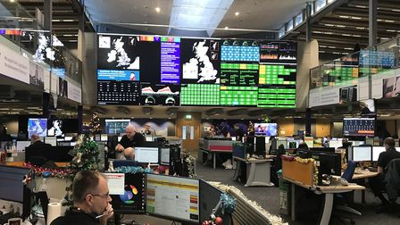 BT Network Operations Centre, Adastral Park