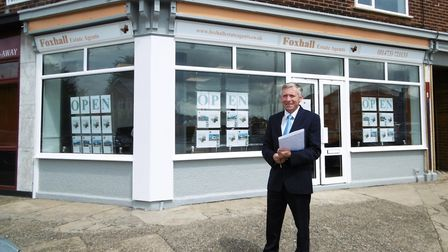 Jonathan Waters has launched a new estate agency, in Ipswich, Foxhall Estate Agents Picture: DAVID