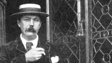 Sherlock Holmes creator Sir Arthur Conan Doyle was a committed spiritualist and toured the country l