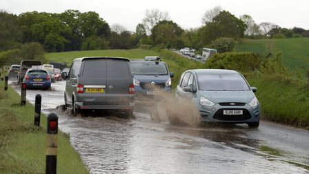 The Met Office are warning of the chance of flooding early next week due to a spell of 'prolonged ra