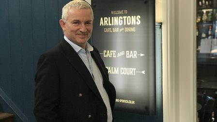 Peter Gwizdala, owner of Arlingtons in Ipswich, is calling for action to help the town thrive Pictu