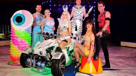Circus Wonderland is at Trinity Park, Ipswich, from June 5-9. Picture: ANDREW PAYNE
