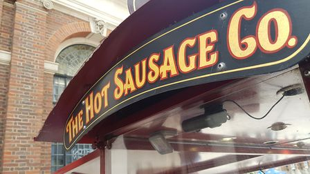 The Hot Sausage Co has been on the Cornhill in Ipswich for three decades
