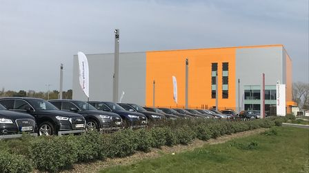 The new Lok'nStore self-storage facility in Ipswich. Photo MCS Group.