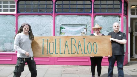 The race is on to get Hullabaloo vegan cafe, in St Peter's Street, open for the Saints Summer Street