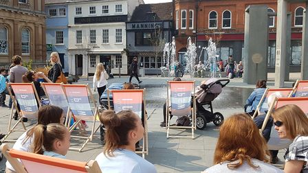 Ipswich Cornhill will be the focus of a summer of fun. Picture: RACHEL EDGE