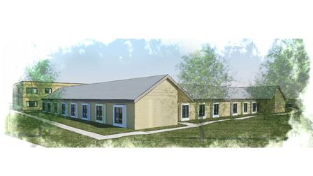 The headway building will house 24 rooms for patients who have suffered brain injuries. Picture: KLH