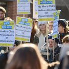 The Campaign to Save Mental Health Services in Norfolk and Suffolk, pictured here protesting after N