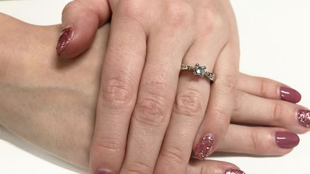 Firefighters were called to help after a ring became stuck on a woman's finger in Ipswich Picture: