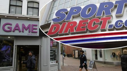 Sports Direct's �52m takeover of Game Digital is expected to bring store closures. Photo: Archant/PA