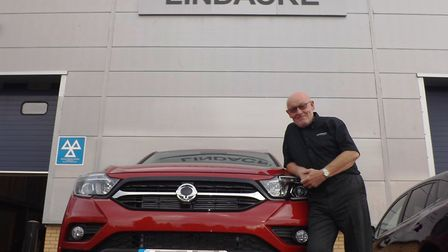 Greg Rashbrook, managing director of approved Land Rover service centre, 4x4 retailer and SsangYong