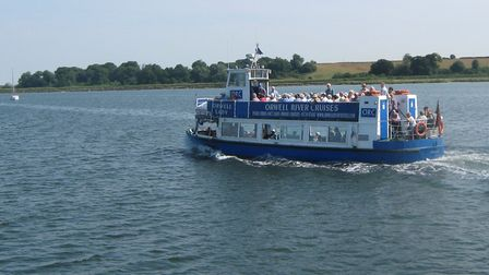 The Orwell Lady on the River Orwell Picture: ARCHANT