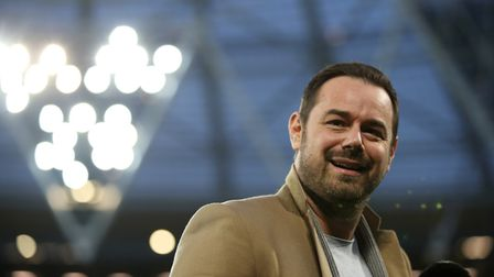 Actor Danny Dyer pictured at the London Stadium