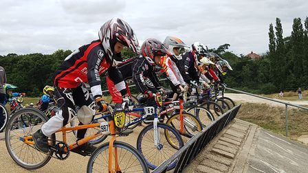 The Ipswich BMX club are trying to raise funds to build a new track, as they celebrate their 39th an