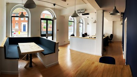 Unicorn Studios in Orwell Place, Ipswich is a new co-working studio for local freelances and creativ