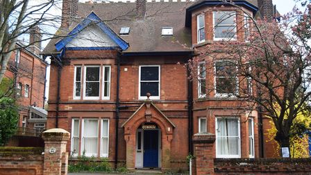 The former Ormonde Nursing Home in Westerfield Road, Ipswich, which could be turned into student acc