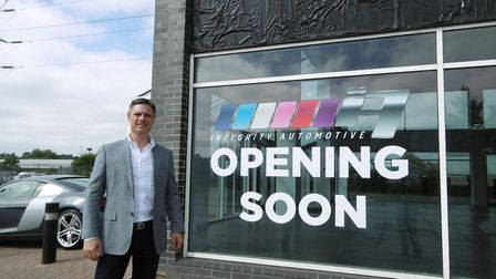 Paul Oakley, managing director of luxury car dealer Integrity Automotive which is moving to new prem