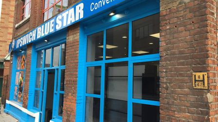 The new Blue Star Convenience Store in Princes Street, Ipswich. Picture: ANDREW PAPWORTH