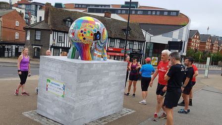 Co-op members are taking part in community runs and other events, including helping make sure the 55