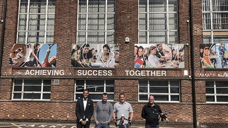 The team behind the MAN UP? event which will take place at Copleston High School in Ipswich Picture: