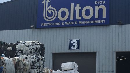 Bolton Bros. recycling depot