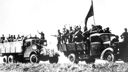 Partisans And Soldiers Heading To Fight The Fascists, In The Slovak National Uprising, August 29, 19