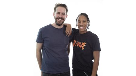 Richard Haugh and Angelle Joseph, who present BBC Introducing in Suffolk Picture: BBC INTRODUCING