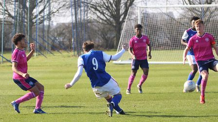 Ipswich U18s play QPR U18s at the Playford Road training ground. Ipswich is switching tractors and m