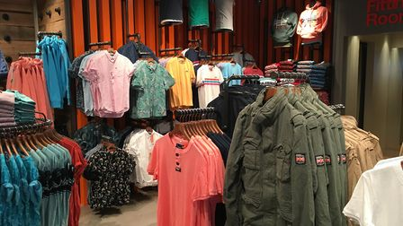The new Superdry store in Ipswich has had an instant impact on the town. Photo: ARCHANT