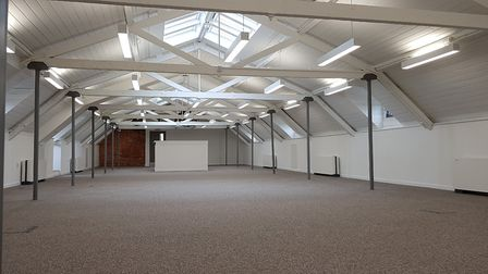 The Maltings conversion in Ipswich has produced open-plan, light and airy working spaces. PICTURE: