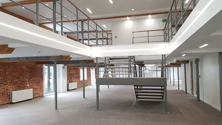 The Maltings in Ipswich already has some tenants ready to move in PICTURE: RACHEL EDGE