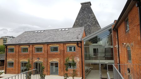 The historic Maltings in Ipswich, once the home of Hollywood night club, has been converted into air