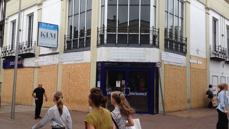 The former Poundworld store in Tavern Street, Ipswich Picture: JUDY RIMMER