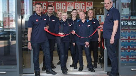 The Food Warehouse has opened at Ransomes Europark Picture: SARAH LUCY BROWN