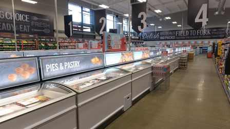 The Iceland Food Warehouse opened in Ipswich on July 30. Picture: SARAH LUCY BROWN