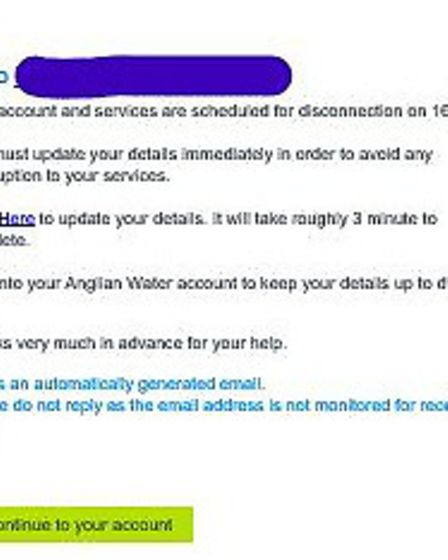 Trading Standards warned people to be wary of scam emails Picture: TRADING STANDARDS
